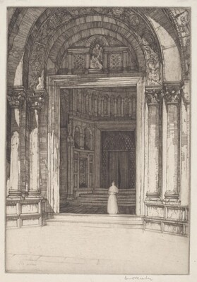 St. Mark's Doorway, Venice
