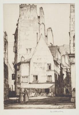 Rue de Chartres, St. Malo