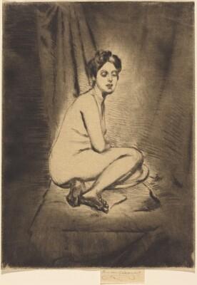 Nude Woman Seated