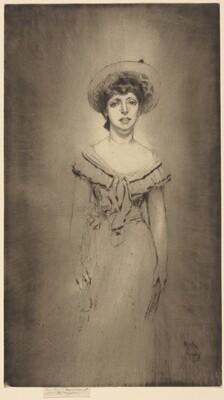 Portrait of Miss Hetty Pettigrew