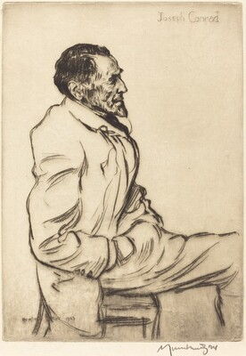Joseph Conrad Listening to Music