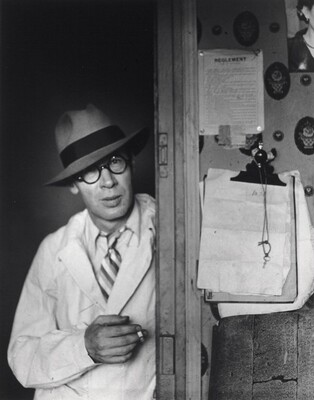 Henry Miller in My Doorway, Hôtel des Terrasses, Paris