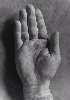 Cast of Picasso's Right Hand