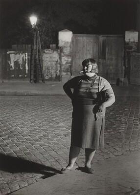 Streetwalker near the Place d'Italie, Paris