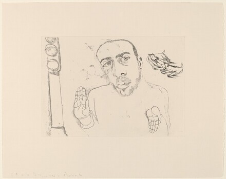 Self-Portrait #6 (Stoplight)