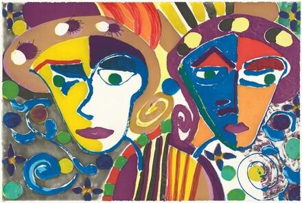 Paulette and Karla [left panel]