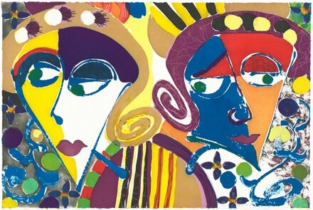 Paulette and Karla [center panel]