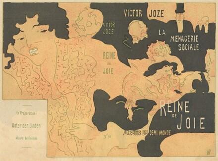 Cover for Victor Joze's Reine de joie, moeurs du demi-monde