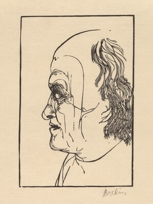 Blake, After a Drawing by John Linnell