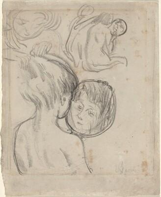 Girl with Mirror (Fille avec miroir)