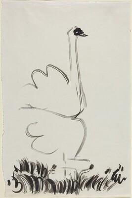 Study for Le Cygne (Swan)