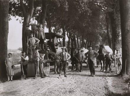 Road Construction Workers, Westerwald