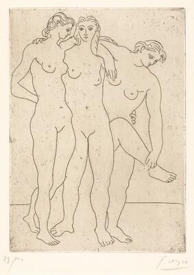 The Three Bathers III (Les Trois Baigneuses III)