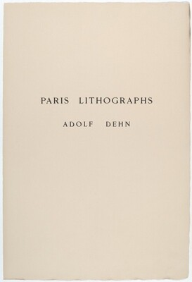 Paris Lithographs