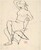 Untitled [partially nude woman seated wearing a hat] [recto]