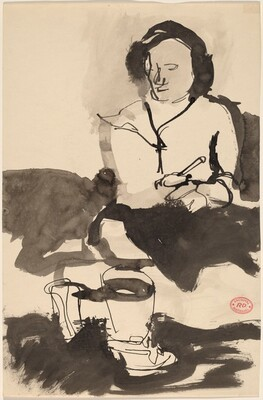 Untitled [study of a woman]