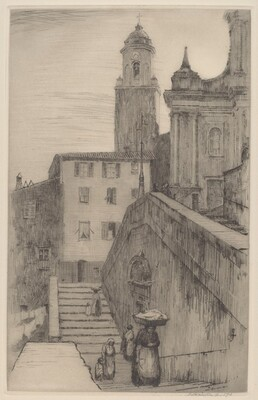 The Stairway, Old Menton