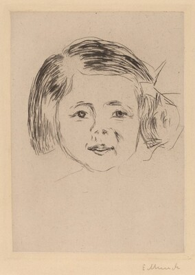 Head of a Girl (Kinderkopf)