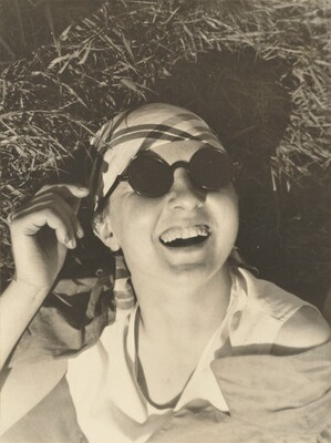 Self-Portrait with Sunglasses, Dessau