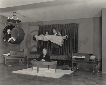 Baron La Velle (Lawrence Jones) in His Home Theater, Louisville, Kentucky