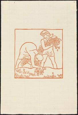 First Book: Daphnis and Chloe Picking Flowers(Daphnis et Chloe rammassant des fleurs)