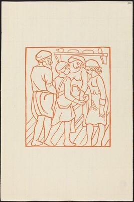 Third Book: Daphnis and Chloe in Dryas'  House (Daphnis et Chloe dans la maison de Dryas)