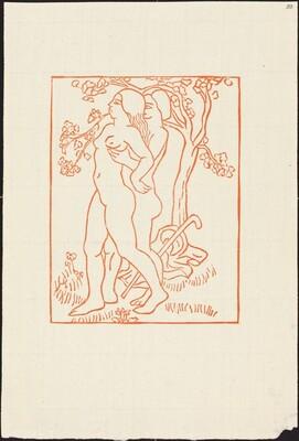 Third Book: Daphnis Lifts Chloe Up (Daphnis soulevant Chloe)