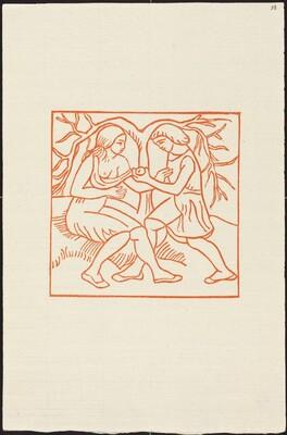 Third Book: Daphnis Pulls an Apple for Chloe (Daphnis donne la pomme a Chloe)