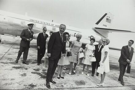 Lyndon Johnson, Cape Kennedy, Florida