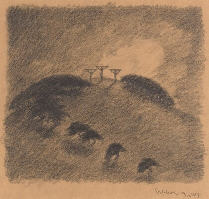 Crucifixion/Three Crosses on a Hill