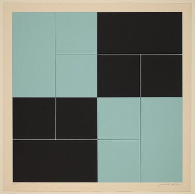 Progressive System of Horizontals in a Square