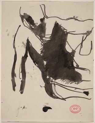 Untitled [gesturing figure]