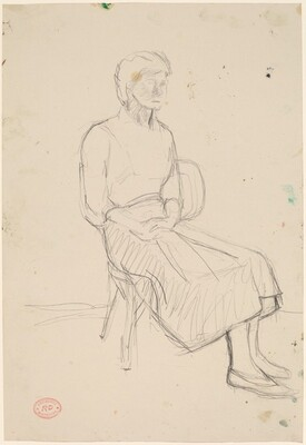 Untitled [woman seated]