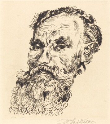 Portrait of a Man with a Long Beard