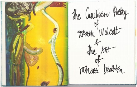 The Caribbean Poetry of Derek Walcott and the Art of Romare Bearden