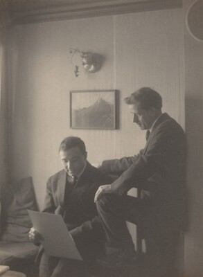 Max Weber and Clarence H. White