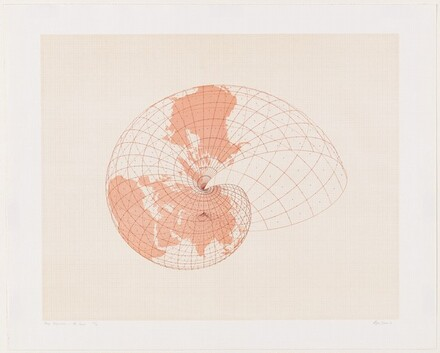 Map Projections: The Snail I