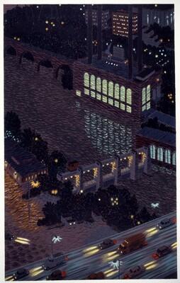 Mississippi Night Lights - Minneapolis