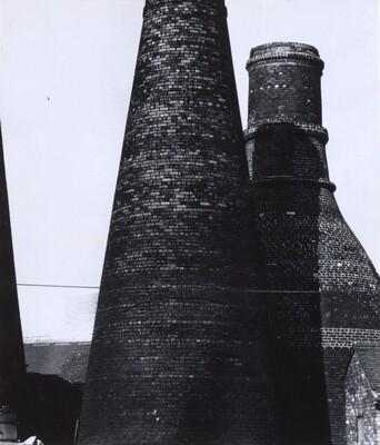 Bottle  Kilns in the Potteries, Stoke-on-Trent
