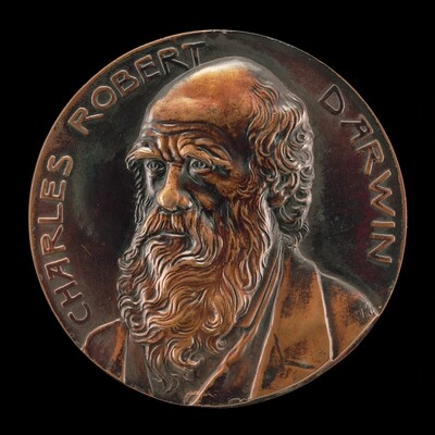 Centennial of the Birth of Charles Darwin, 1809-1882 [obverse]