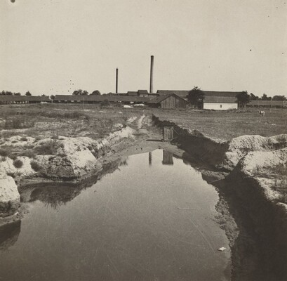 Untitled (Factory and Pond)