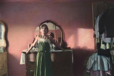 Carol in her Mother's Dress