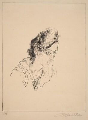 Portrait of Miss Buchholz
