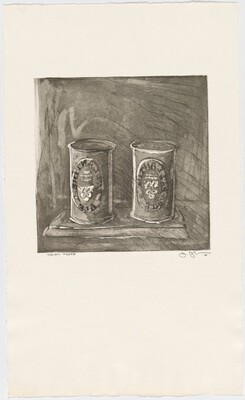 1st Etchings, 2nd State [Ale Cans trial proof]