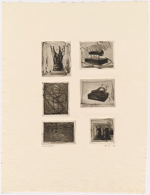 1st Etchings, 2nd State [trial proof - 6 photo plates with etching]
