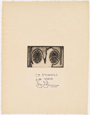 1st Etchings, 2nd State [trial proof for title page]