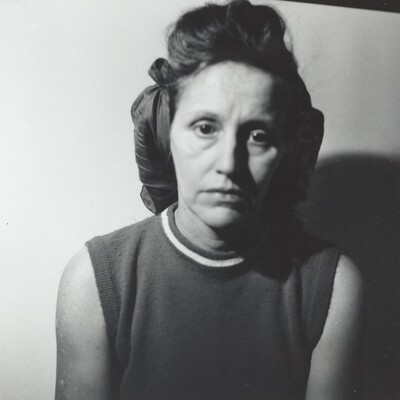 Untitled (Woman with blank expression)