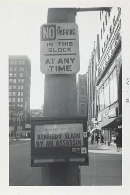Kennedy Slain by Assassin