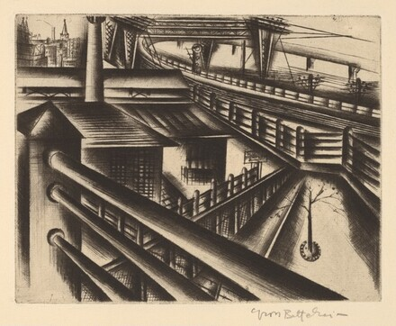 Untitled (Industrial Landscape)