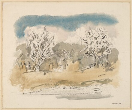 Pear Trees in Blossom #4, Saddle River District, New Jersey